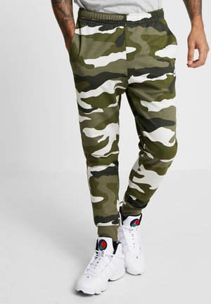 CLUB  - Pantalon de survêtement - medium olive/summit white