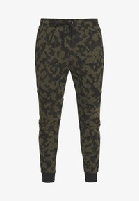 Nike Sportswear - Pantalon de survêtement - medium olive/black - 3