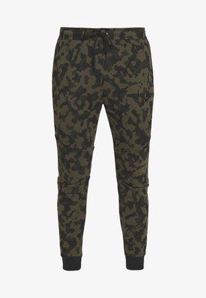 Teplákové kalhoty - medium olive/black