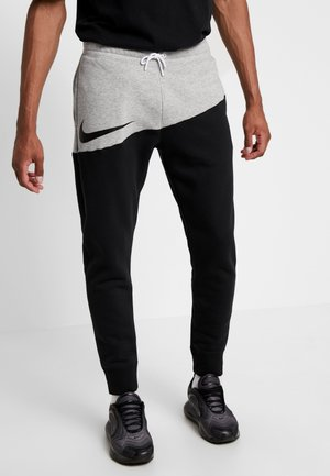Träningsbyxor - dark grey heather/black