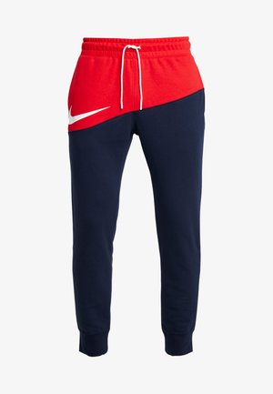 PANT  - Tracksuit bottoms - university red/obsidian/white