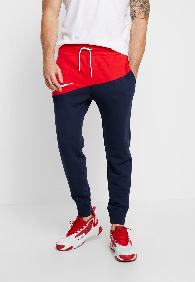 Nike Sportswear - PANT  - Träningsbyxor - university red/obsidian/white