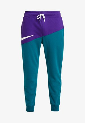 PANT  - Tracksuit bottoms - court purple/geode teal/white