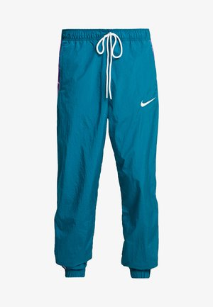 PANT - Tracksuit bottoms - geode teal/court purple/white