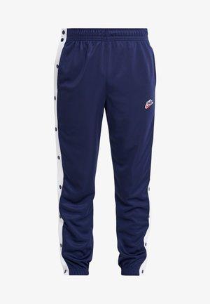 TEARAWAY  - Pantalones deportivos - midnight navy/white