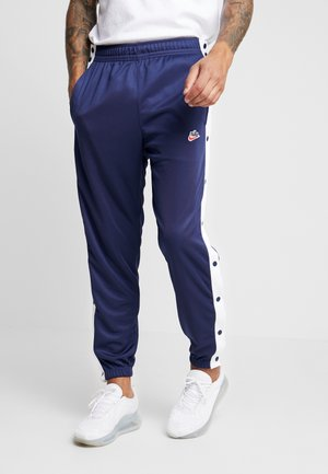 TEARAWAY  - Tracksuit bottoms - midnight navy/white