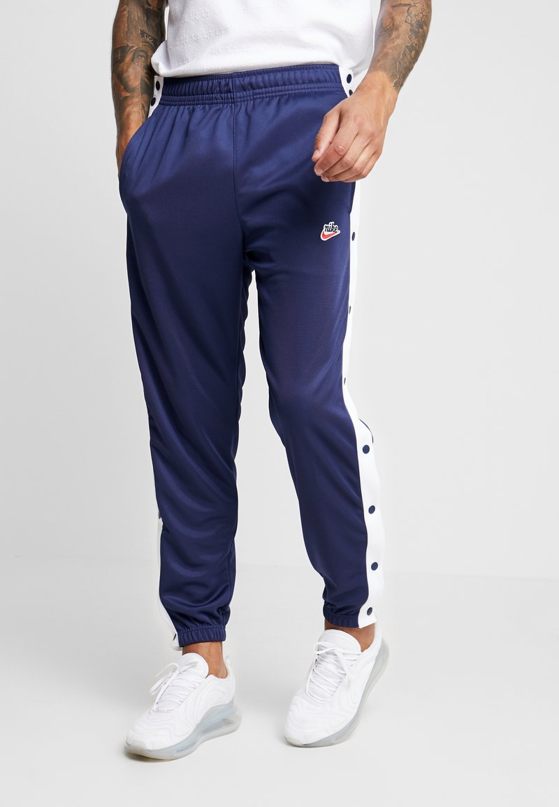 Nike Sportswear - TEARAWAY  - Tracksuit bottoms - midnight navy/white