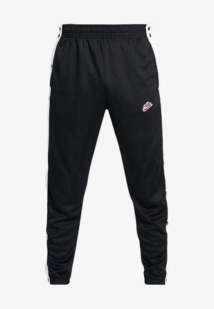 TEARAWAY  - Tracksuit bottoms - black/white