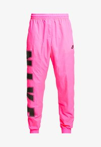Nike Sportswear - WOVEN  - Verryttelyhousut - hyper pink/black - 4