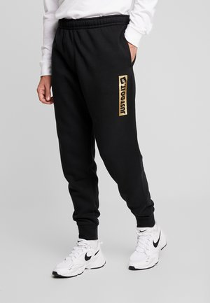 METALLIC - Trainingsbroek - black