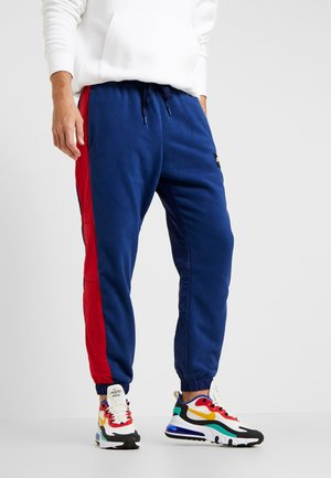 AIR PANT MIX - Pantalon de survêtement - blue void/university red/white/black