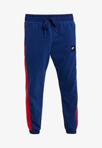 Nike Sportswear - AIR PANT MIX - Tracksuit bottoms - blue void/university red/white/black - 3