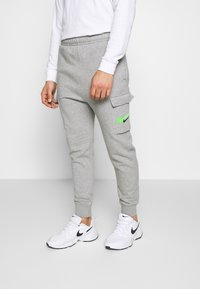 Nike Sportswear - PANT CARGO - Tracksuit bottoms - grey heather - 0