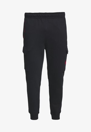 PANT CARGO - Tracksuit bottoms - black