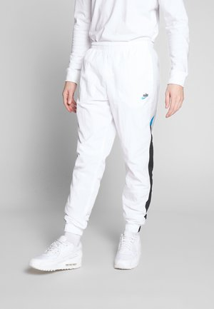 PANT SIGNATURE - Träningsbyxor - white/black/pure platinum