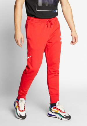 PANT - Tracksuit bottoms - university red/white