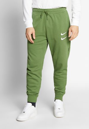 M NSW PANT FT - Verryttelyhousut - treeline/(white)