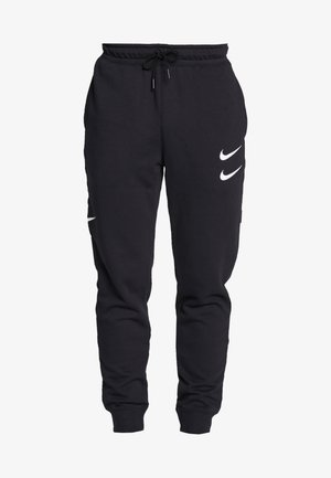 M NSW PANT FT - Pantaloni sportivi - black/white