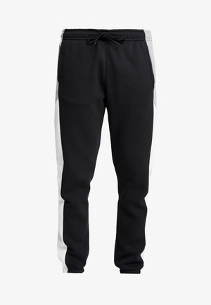 Tracksuit bottoms - black/grey/white