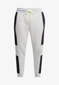 Nike Sportswear - M NSW NIKE AIR PANT FLC - Pantalon de survêtement - smoke grey/black/volt - 4
