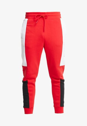 M NSW NIKE AIR PANT FLC - Verryttelyhousut - university red/white/black
