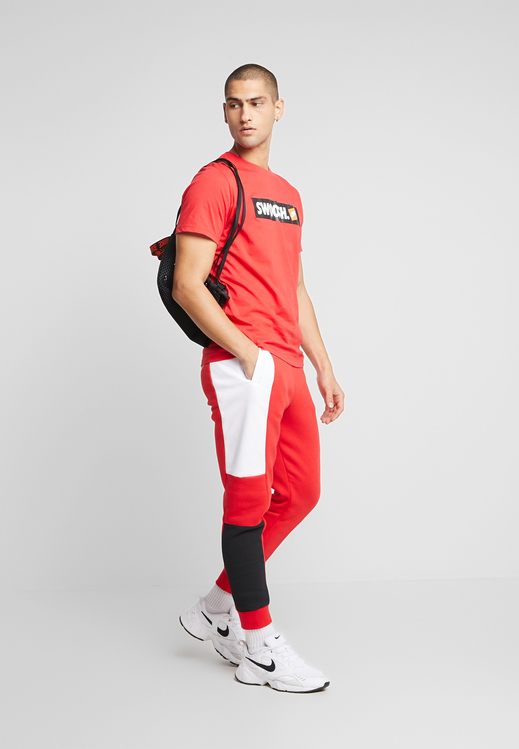 Nike Sportswear Pantalon De Survêtement - University Red/white/black