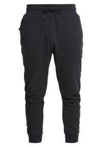 Nike Sportswear - M NSW NIKE AIR PANT FLC - Pantalones deportivos - black/university red - 0