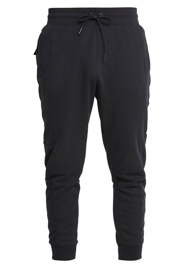 M NSW NIKE AIR PANT FLC - Pantalon de survêtement - black/university red