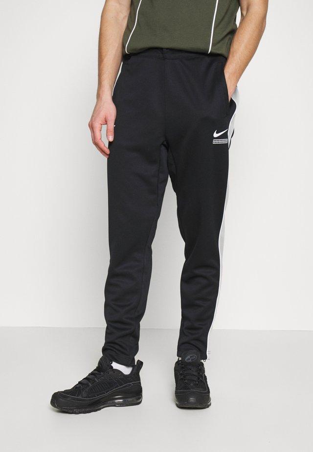 PANT - Spodnie treningowe - black/light smoke grey/white
