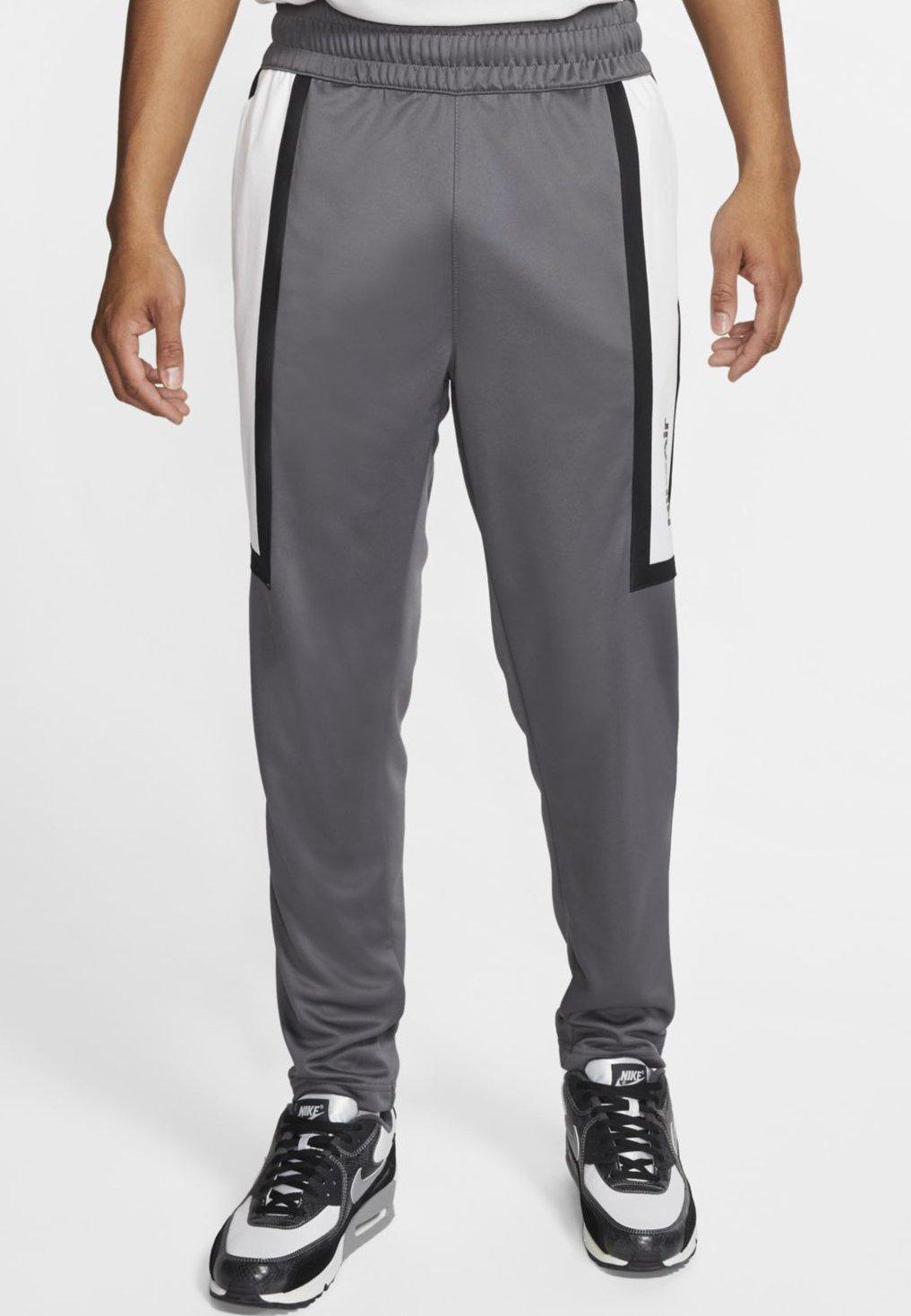 M NSW NIKE AIR PANT PK Pantalon de survêtement dark greyblackwhite