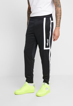 M NSW NIKE AIR PANT PK - Tracksuit bottoms - black/white