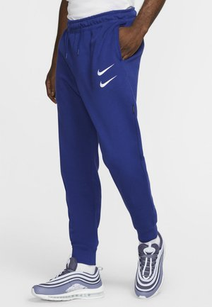 Tracksuit bottoms - deep royal blue/white