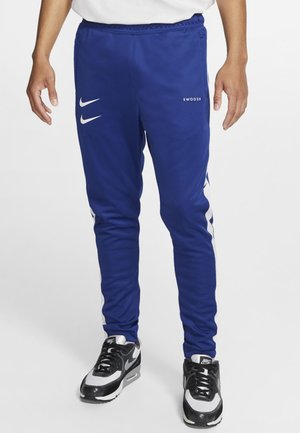 Tracksuit bottoms - royal blue/white