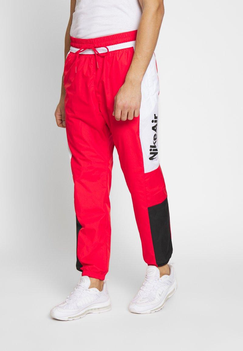 Nike Sportswear - AIR - Spodnie treningowe - university red/white/black