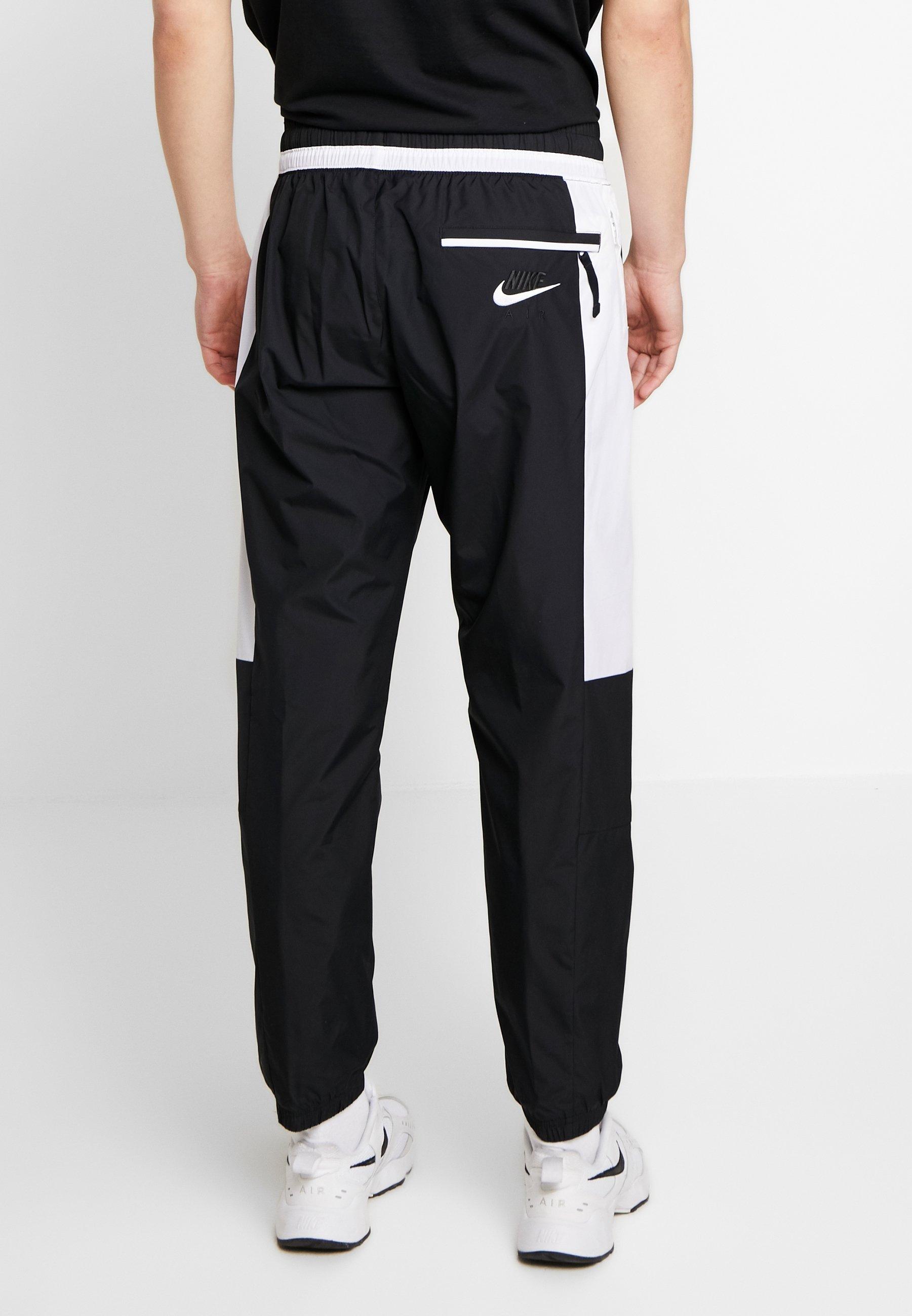 Nike Sportswear AIR - Spodnie treningowe - black/white