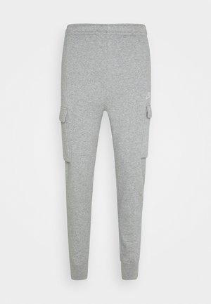 CLUB PANT  - Teplákové kalhoty - grey heather/matte silver/white
