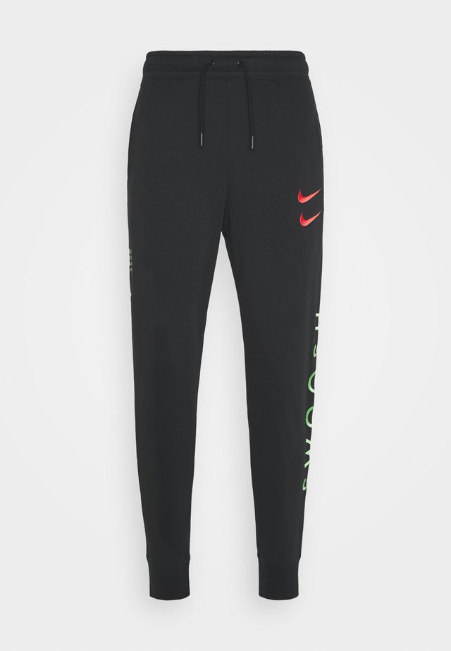 PANT - Pantalon de survêtement - black/green