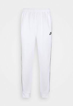 REPEAT - Spodnie treningowe - white