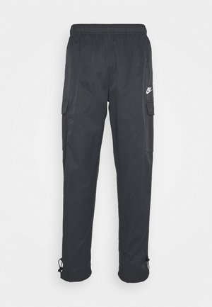 PANT PLAYERS - Tracksuit bottoms - black/white