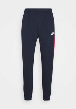 Pantaloni sportivi - obsidian/university red/white