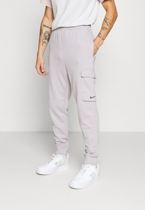 Tracksuit bottoms - silver lilac