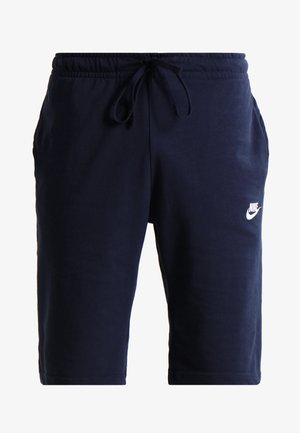 CLUB - Tracksuit bottoms - obsidian/white