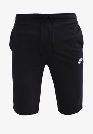 CLUB - Pantalones deportivos - schwarz/weiß