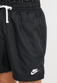 Nike Sportswear - FLOW - Shorts - black/white - 3