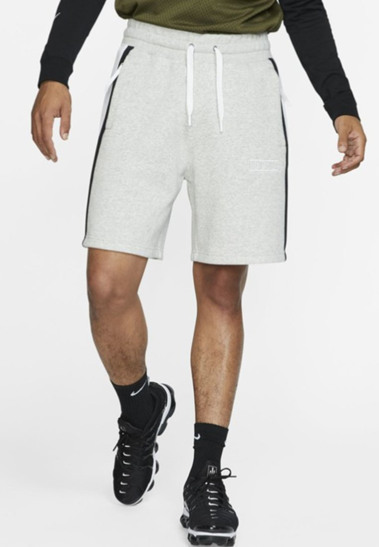Nike Sportswear Heather AirShort Grey white black N8n0vmwO