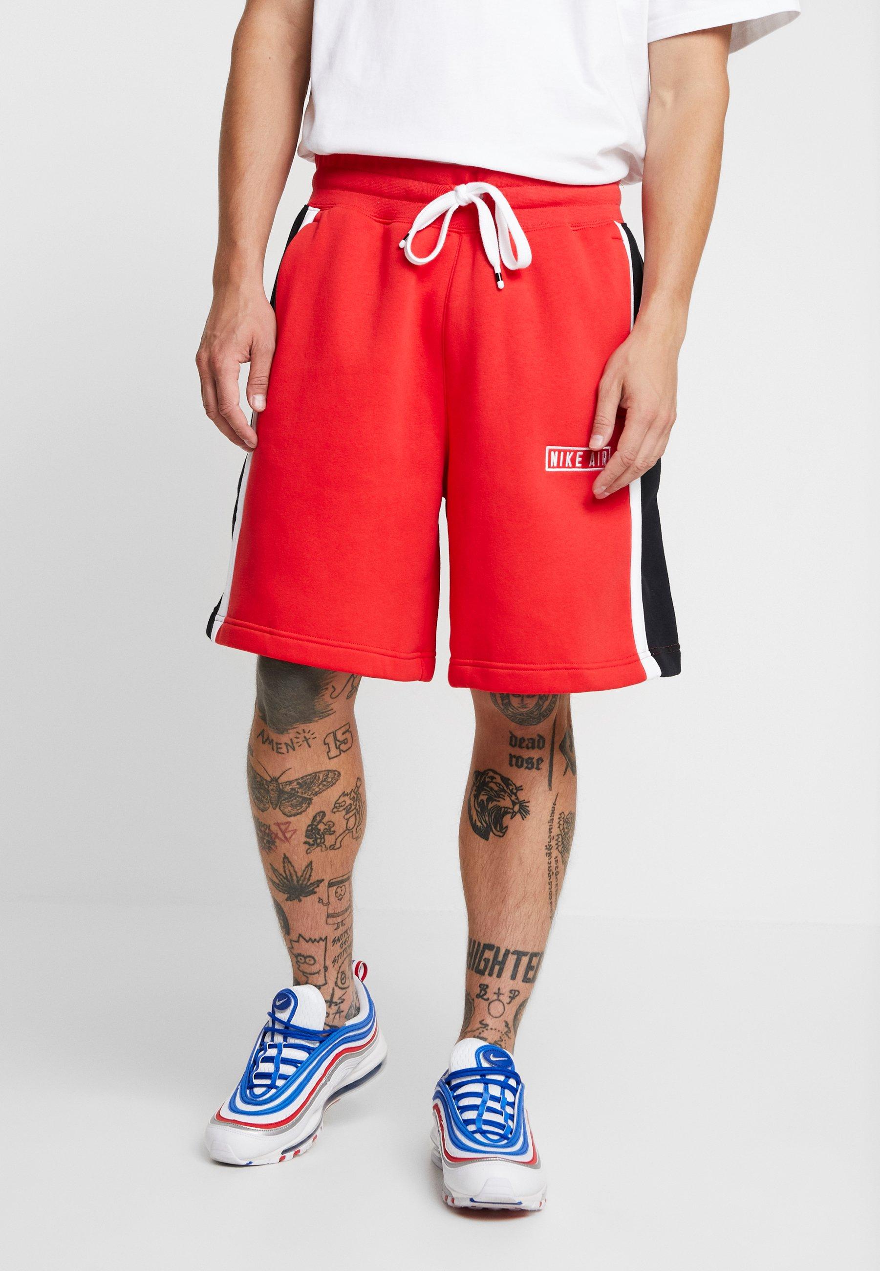 AirShort Red white Nike University Sportswear black 7g6ybf