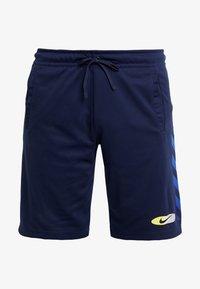 Nike Sportswear - SUBSET - Träningsbyxor - midnight navy/black - 4