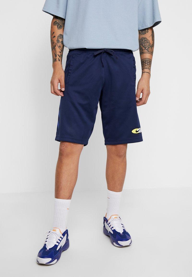 Nike Sportswear - SUBSET - Träningsbyxor - midnight navy/black