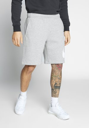 Shorts - grey heather/white
