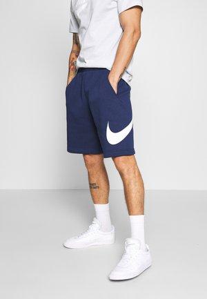 Shorts - midnight navy/white